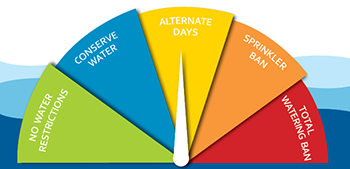 water restriction alternate days sm