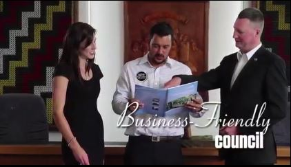 Business Friendly Council - video