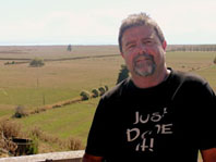 Owen MacDonald, owner/operator of Waikaha PlastiX