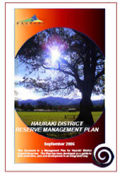 Reserve Management Plan cover