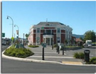 Paeroa town centre in front of Paeroa Post Office