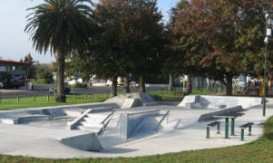 Skatepark at the Railway Reserve, Paeroa