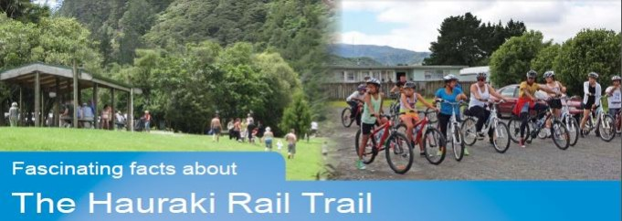 Fascinating facts about the Hauraki Rail Trail