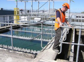 Kerepehi Water Treatment Plant's clarifying unit