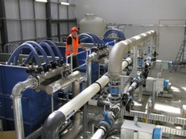 Kerepehi Water Treatment Plant's membrane unit